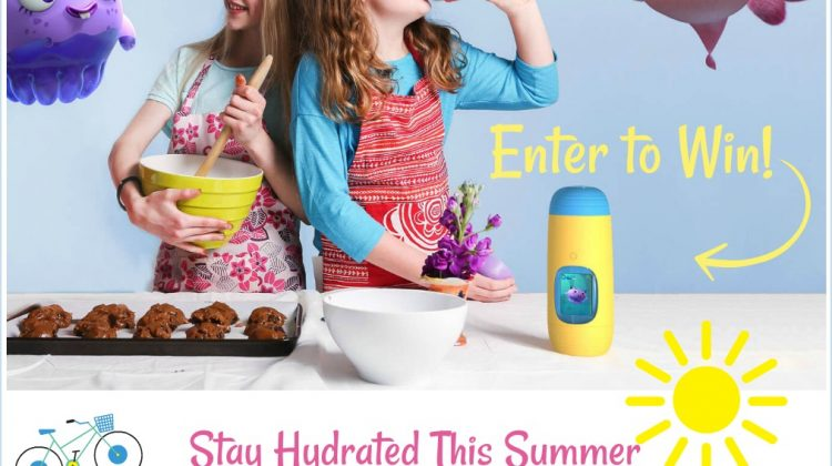 Enter to Win a Gululu Interactive Water Bottle, US Only, Ends 8/6
