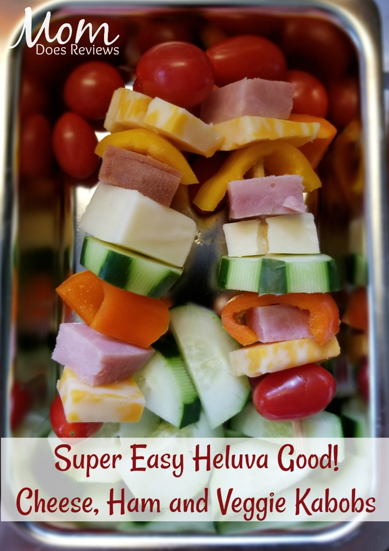 Heluva Good! Cheese Lunch Kabobs