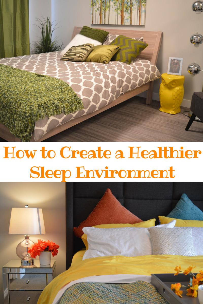 create a Healthier Sleep Enviroment