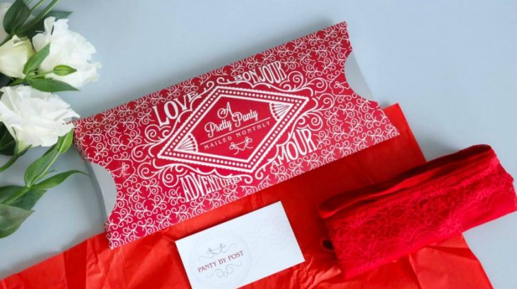 Panty by Post for a Beautiful, Sexy Surprise Each Month! #MDRSummerFun