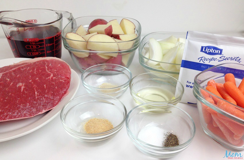 Pot Roast with Vegetables ingredients