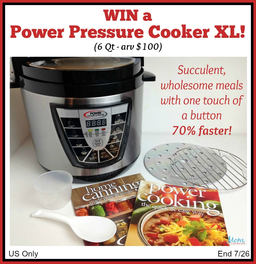 Power Pressure Cooker XL Giveaway button