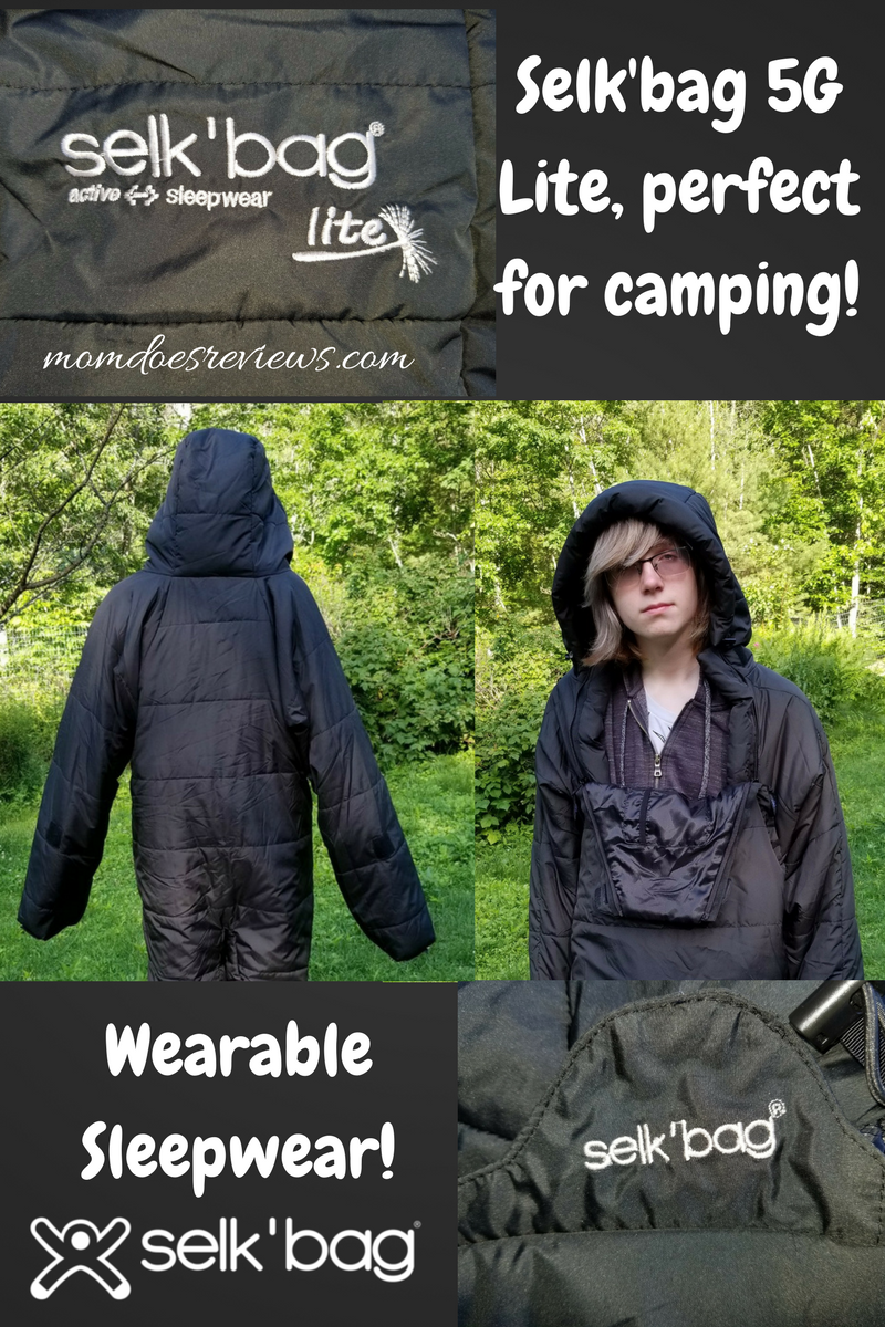 Selk'bag- wearable sleeping bag