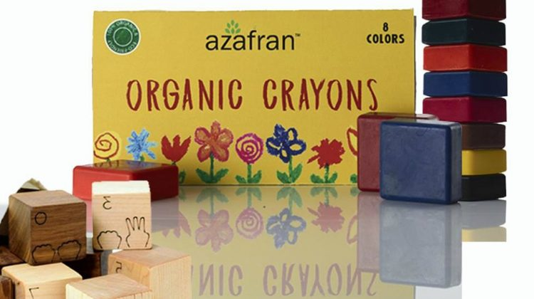 Azafran Organic Crayons are Great for Your Children and the Earth #Review