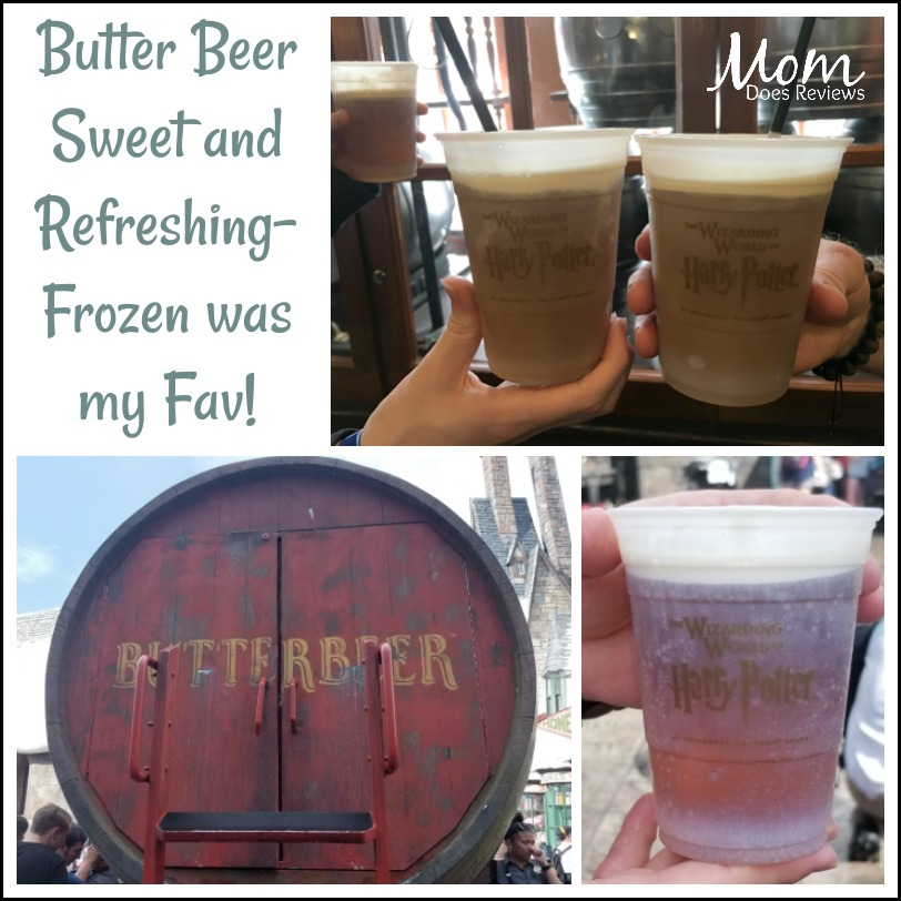 Butter Beer- only at Universal