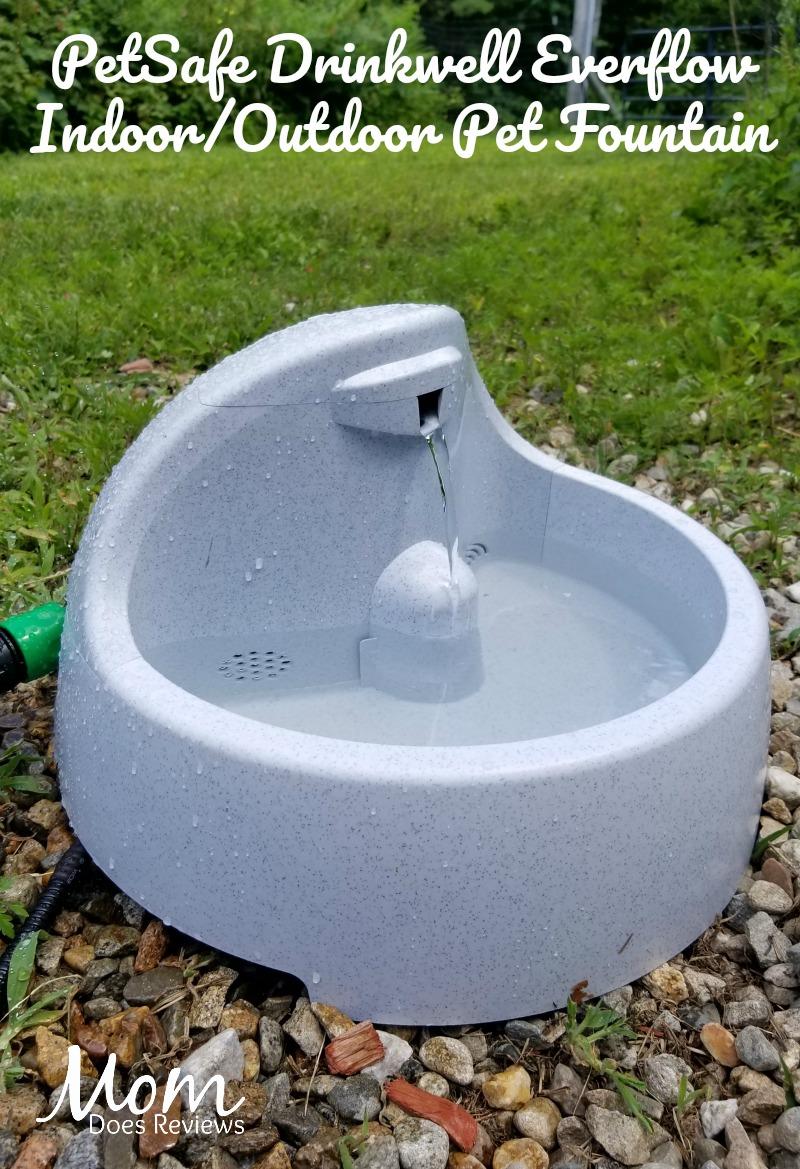 Drinkwell Everflow Indoor/Outdoor Pet Fountain