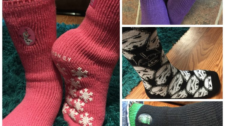 Get Cozy With Heat Holders Character Slipper Socks #Review
