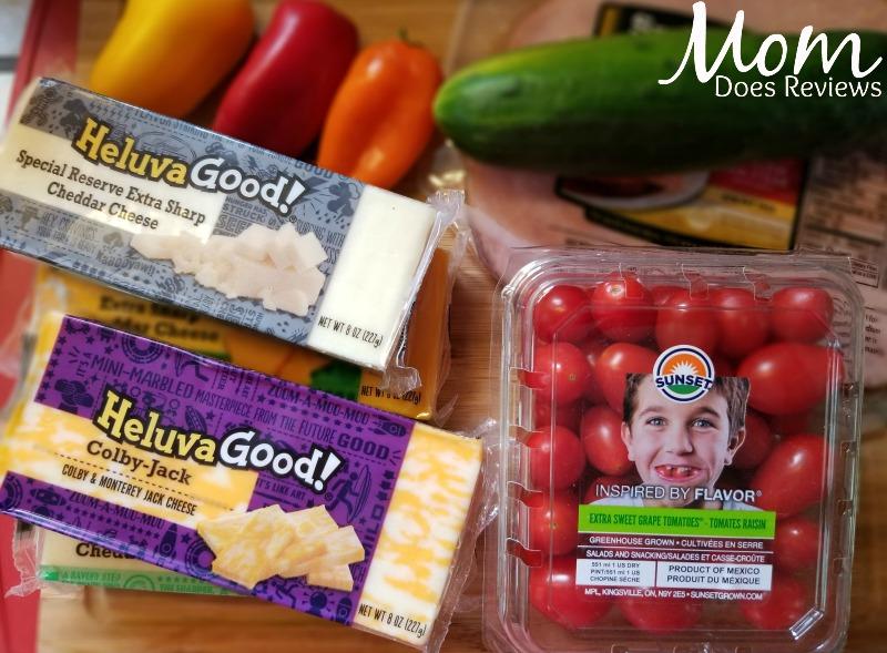 Heluvagood Cheese kabob ingredients