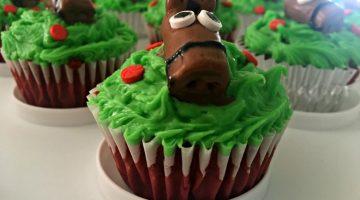 Simple Horse Cupcake Topper Tutorial