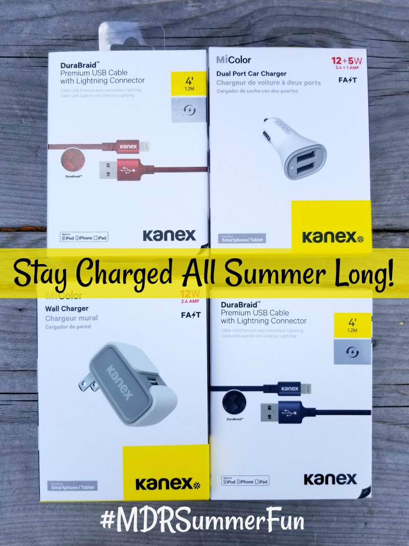 Kanex will keep your devices charged all summer long
