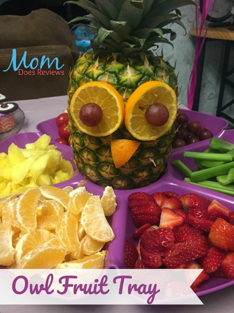 Owl Fruit Tray for a Hoot at your party!