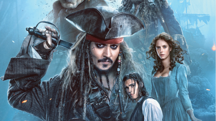 Pirates of the Caribbean: Dead Men Tell No Tales on Blu-ray 10/3