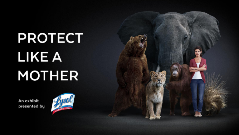 Protect like a mother with Lysol