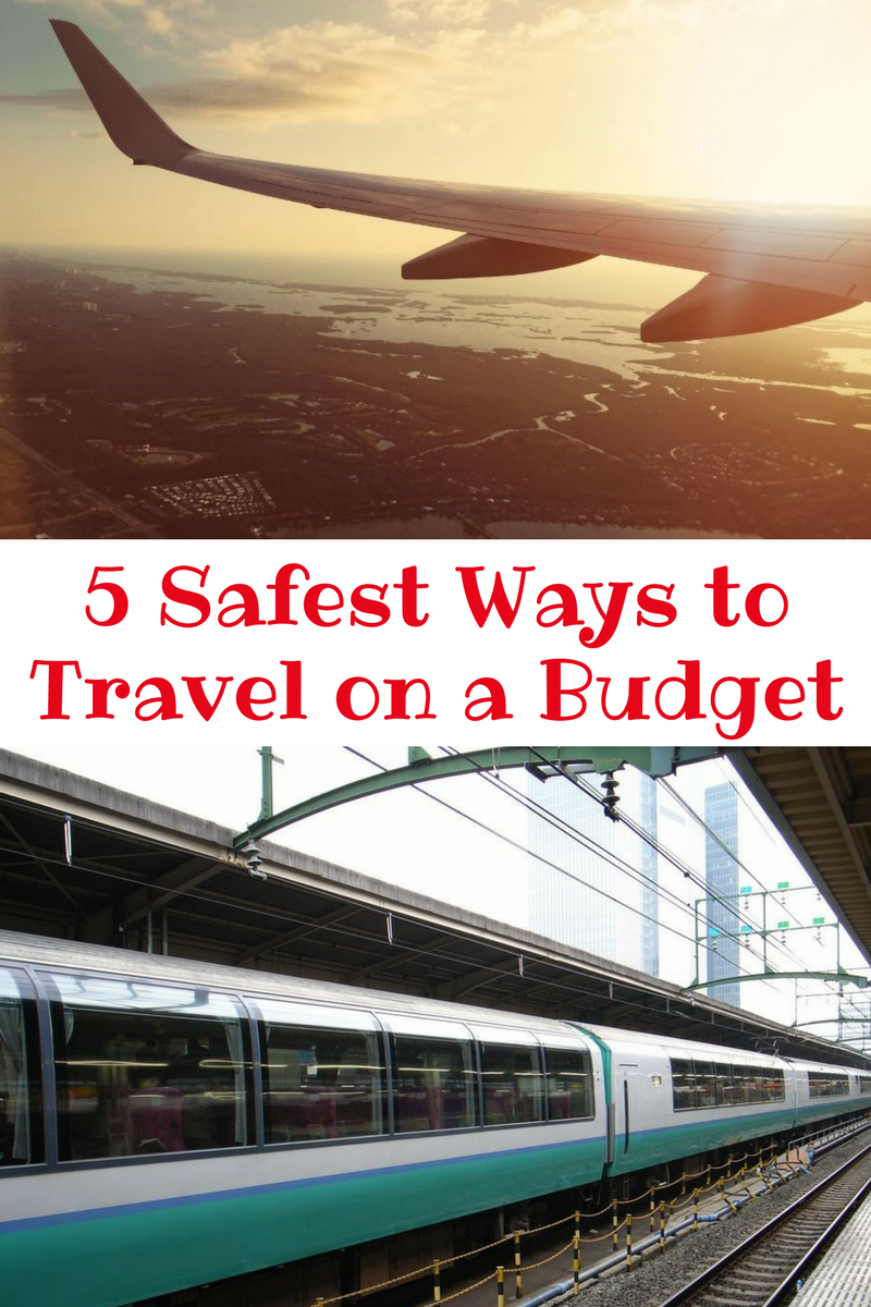 5 Safest ways to travel on a budget