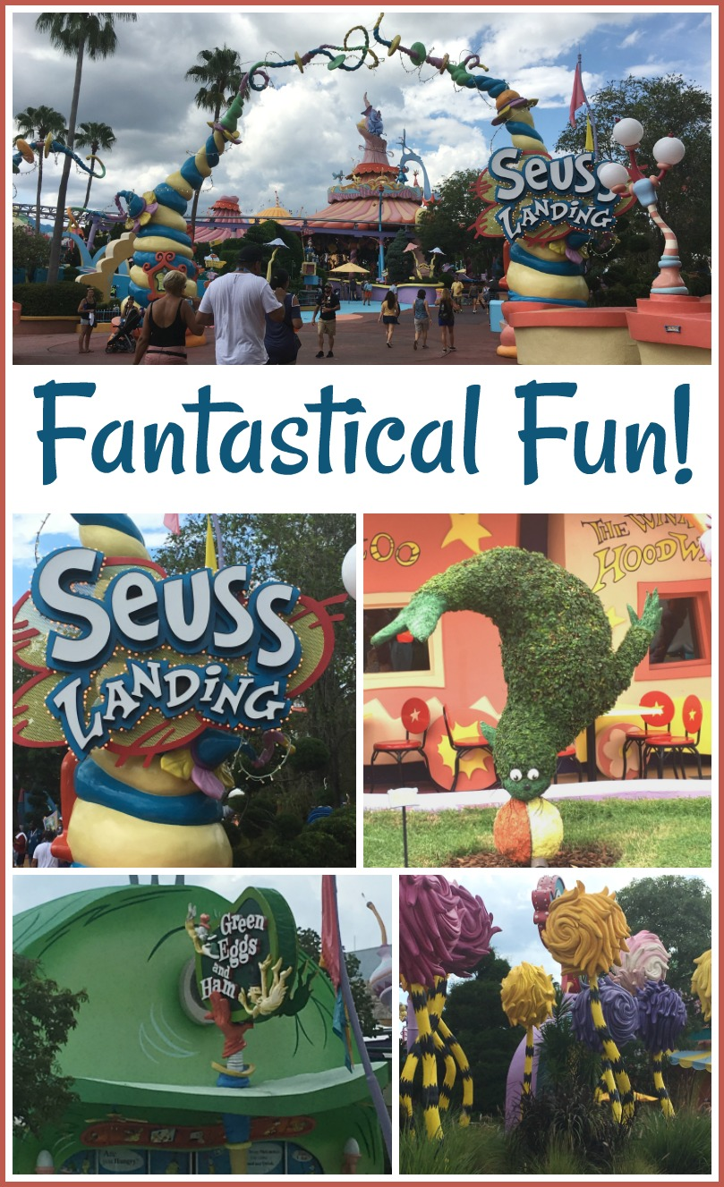 fantastical fun in Seuss Landing