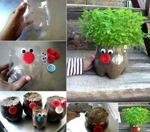 5 Easy Creative Plastic Bottle #Crafts For Kids