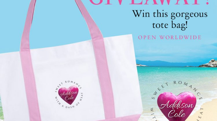 Hearts at Seaside by Addison Cole with Tote Giveaway!
