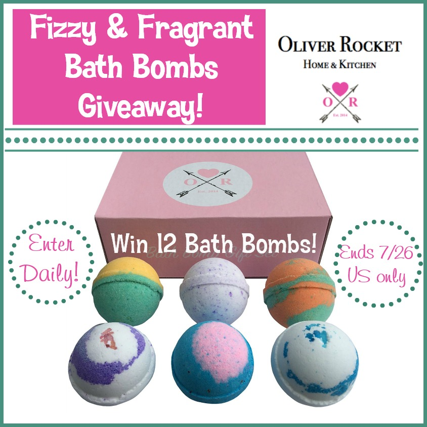 Win Fizzy Fragrant Bath Bomb Gift Set x2