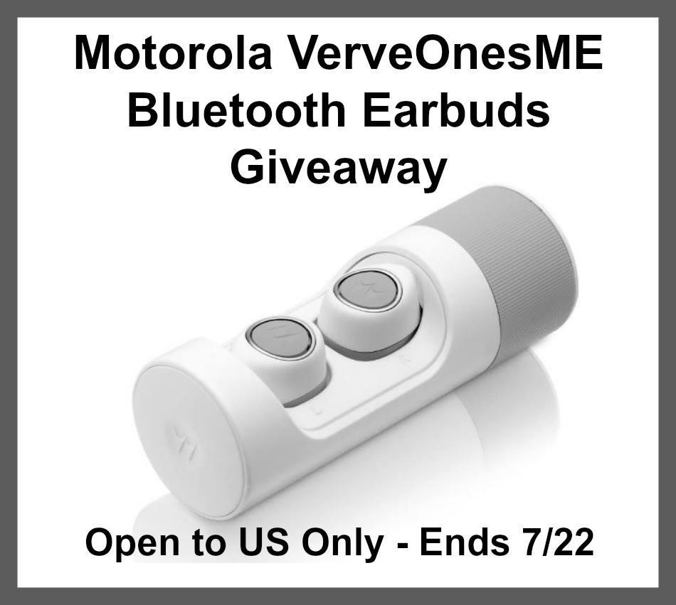 Win Motorola Verveones Earbuds