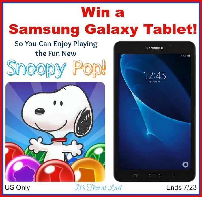 win samsung galaxy tablet