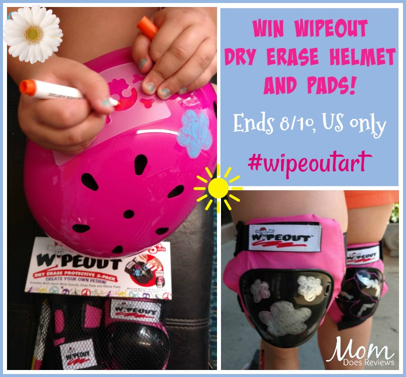 win wipeout helmet and pads