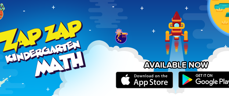 Bring Fun into the Equation with Zap Zap Kindergarten Math app