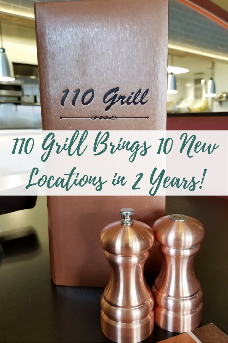 110 Grill has 10 new locations