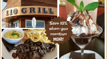 Eat at 110 Grill for an Amazing, Inviting and Creative Culinary Experience #110GrillRochester