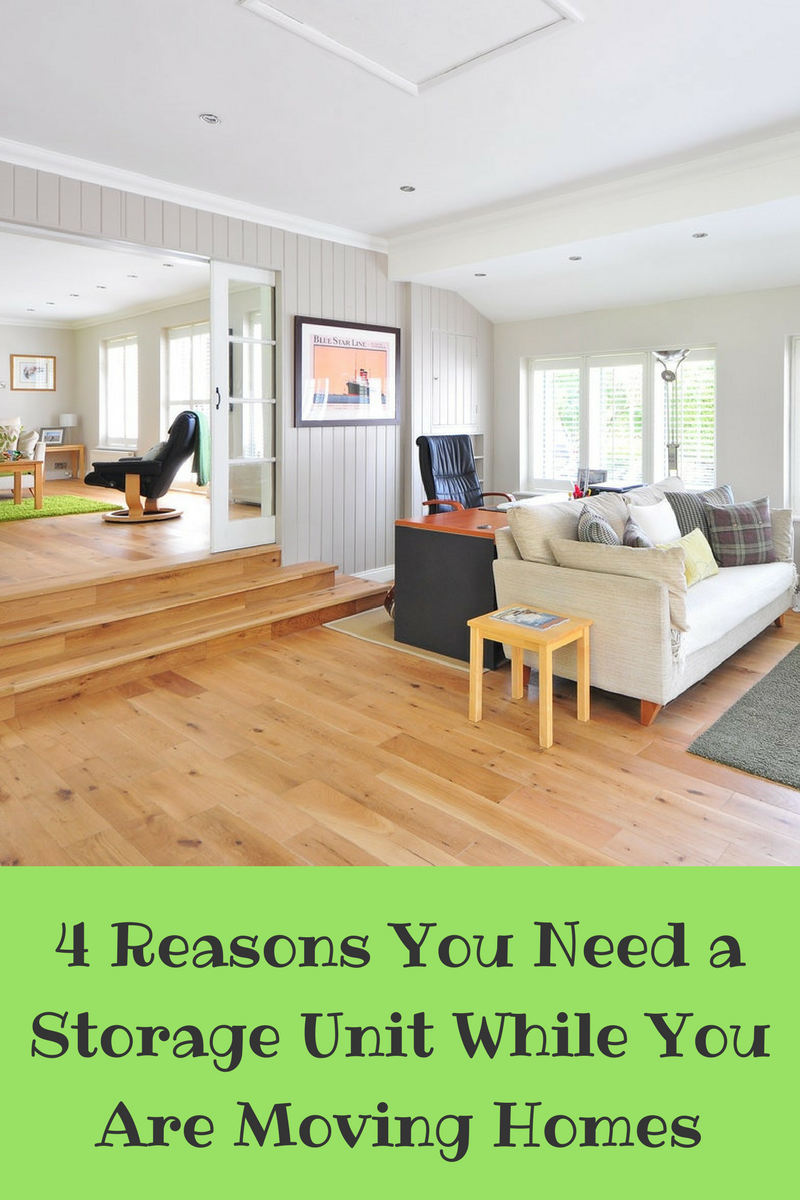 4 Reasons You Need a Storage Unit While You Are Moving Homes
