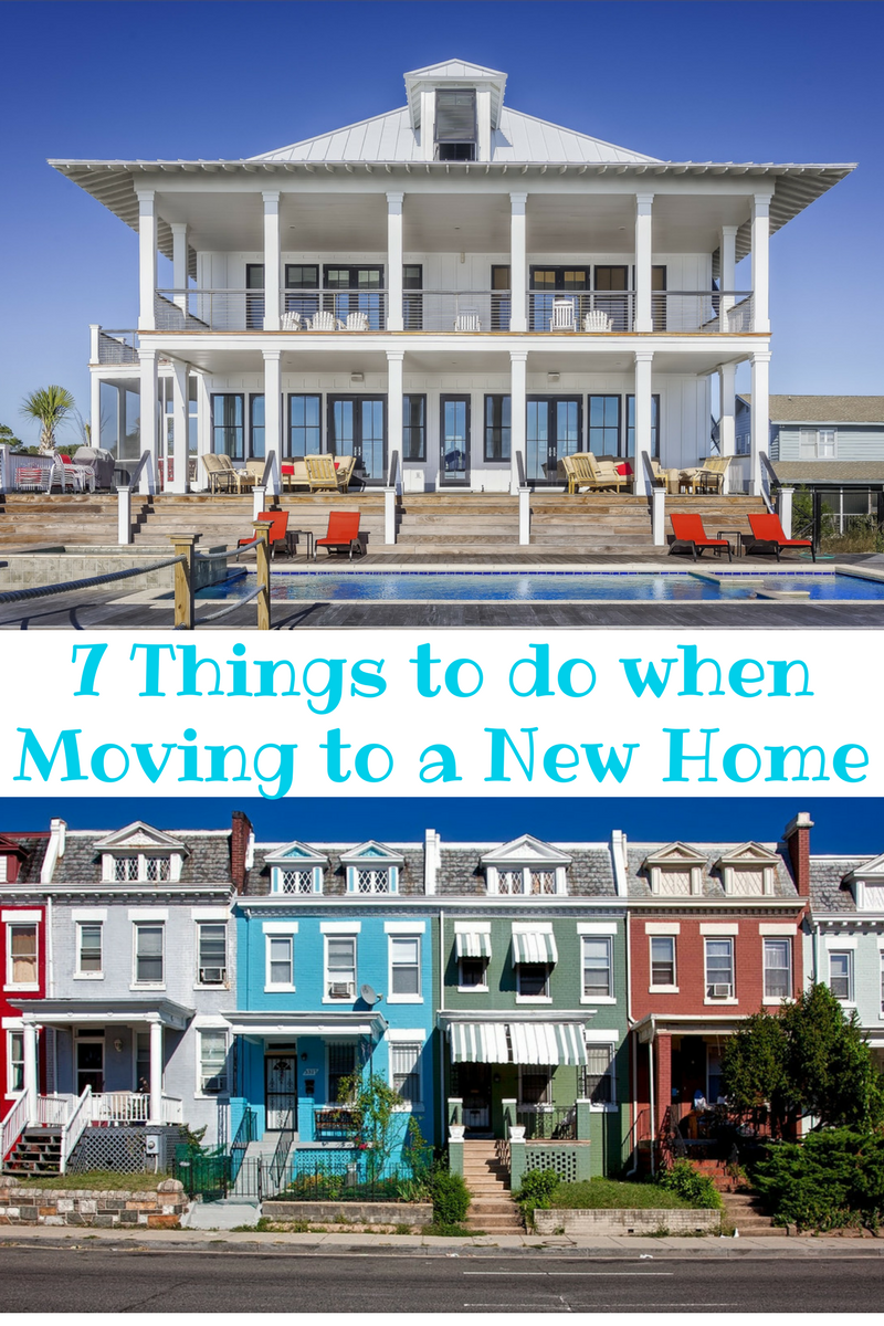 7 Things You Should Do When Moving Your Family Into A New