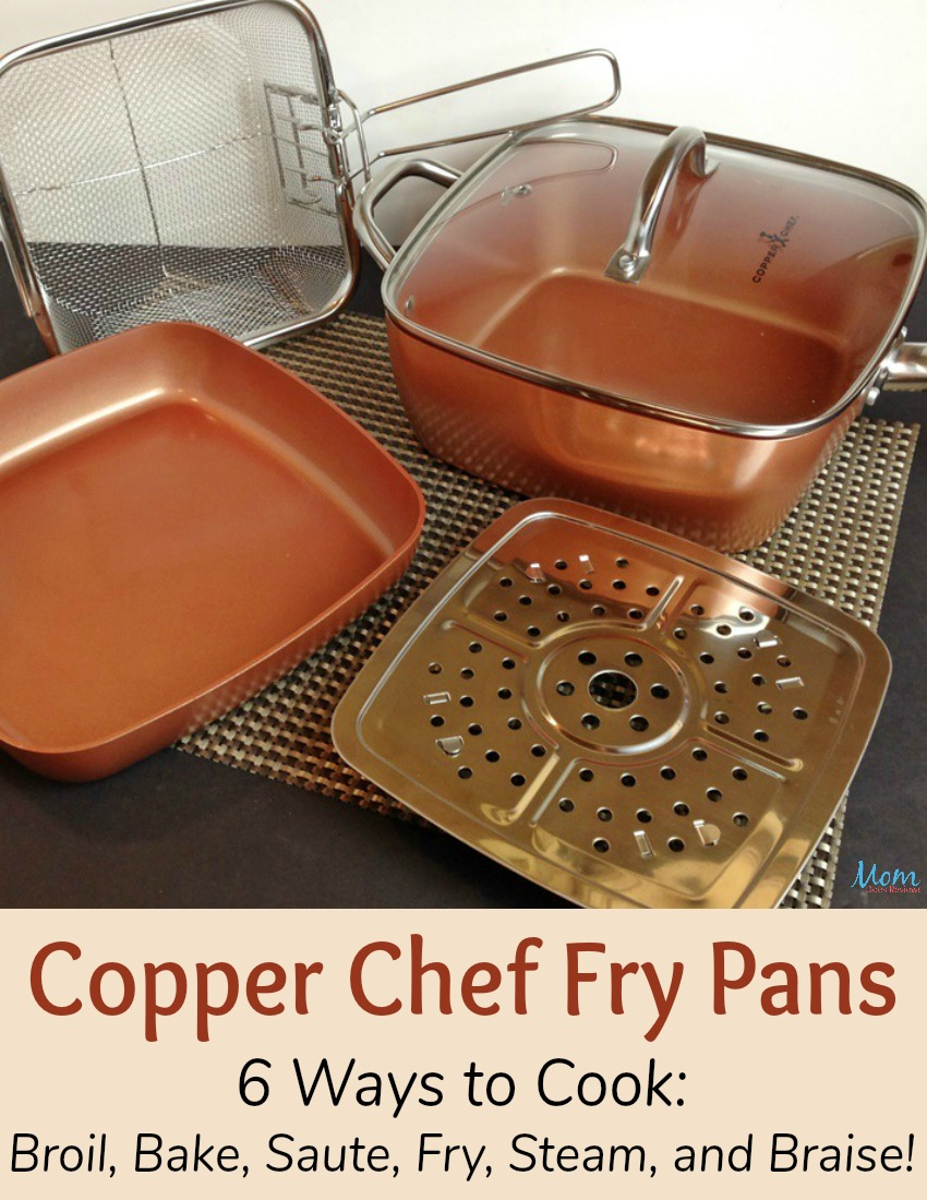 Copper Chef Fry Pan The All In One Pan That Cooks Faster