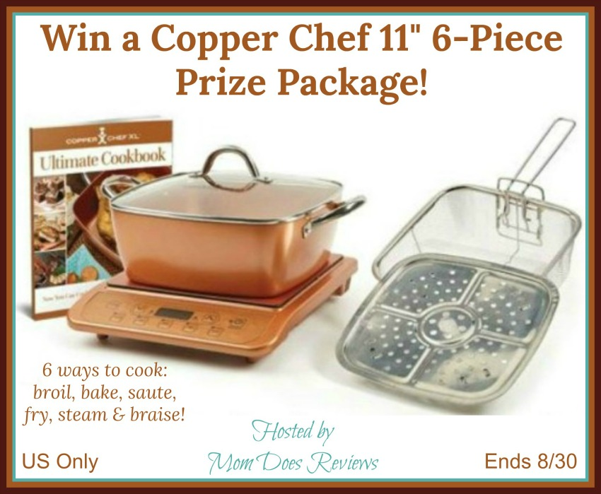 win a copper chef 11 6 piece prize package us ends 8 30. Black Bedroom Furniture Sets. Home Design Ideas