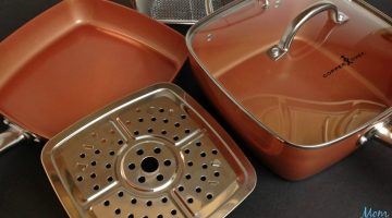 Copper Chef Fry Pan: The All-In-One Pan that Cooks Faster & Healthier!
