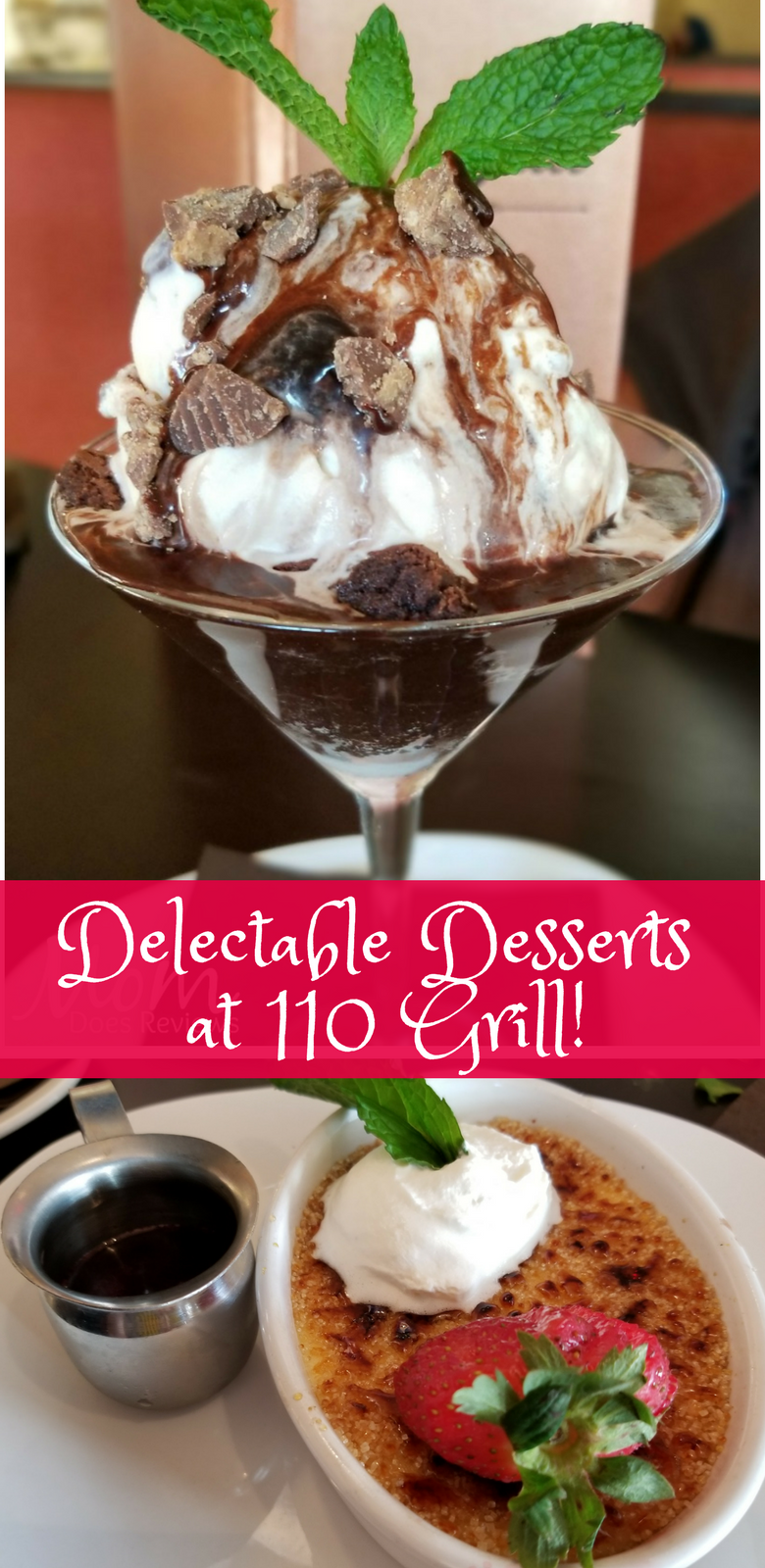 Delectable Desserts at 110 Grill