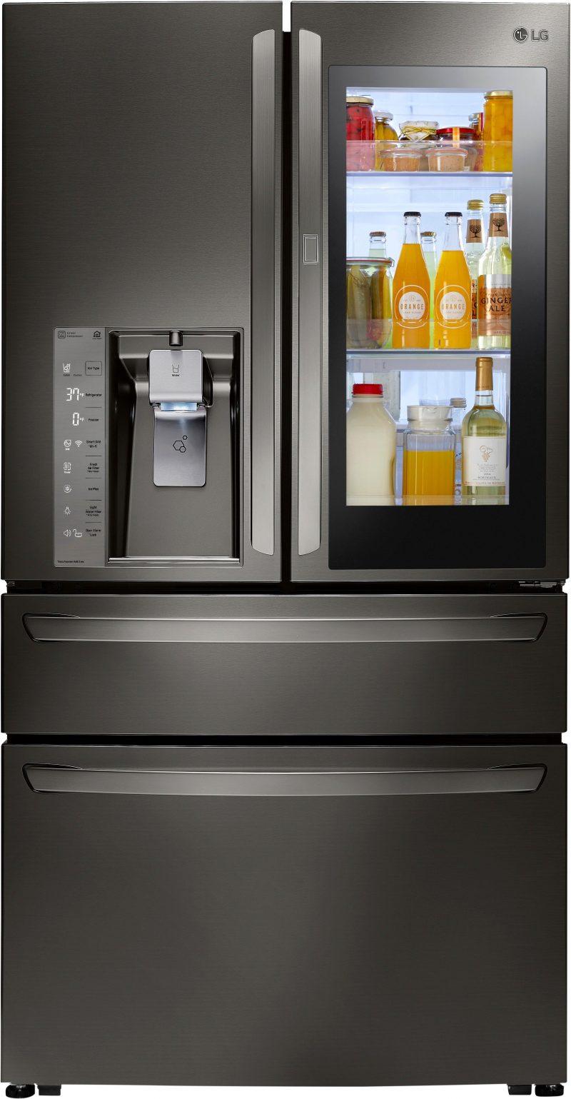 LG's InstaView™ Door-in-Door® refrigerator