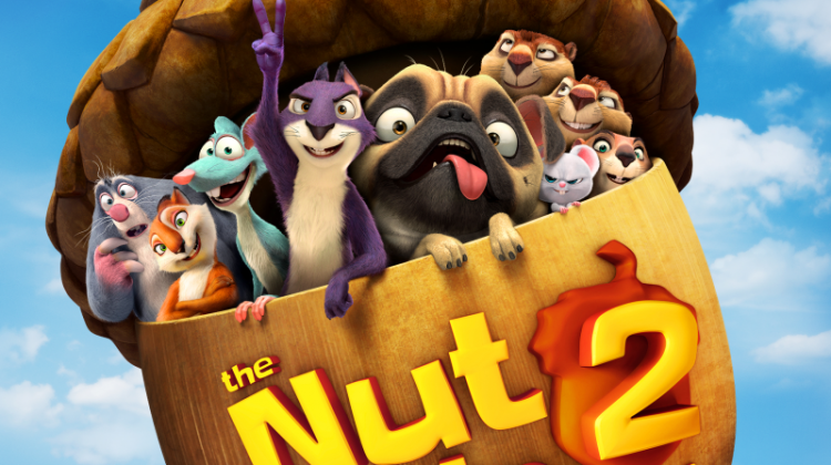 Now Playing: Nut Job 2: Nutty by Nature #TheNutJob2