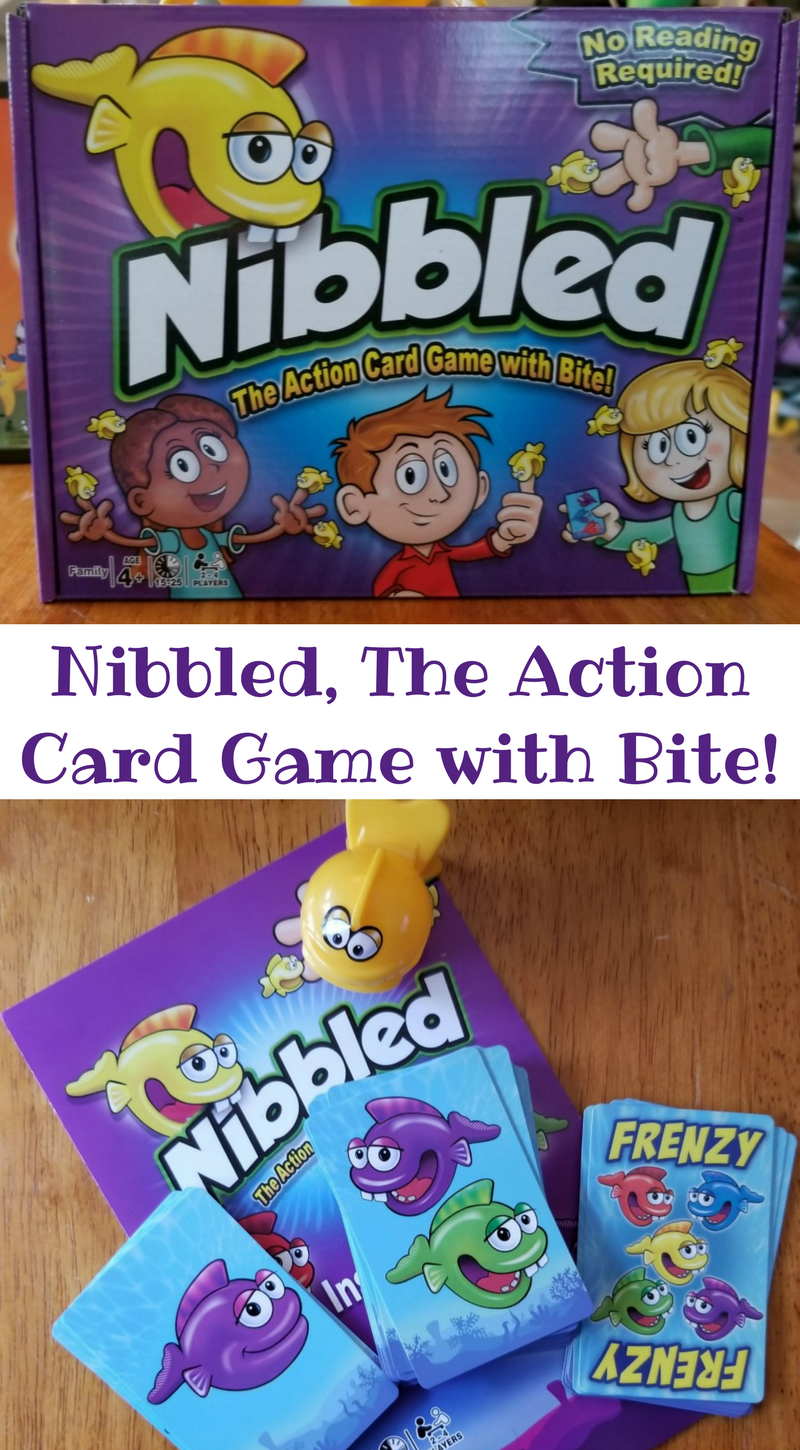 Nibbled, The Action Card Game with Bite!