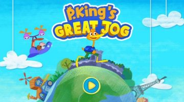 Join In on the Adventure with P. King's GREAT JOG app #review #ad