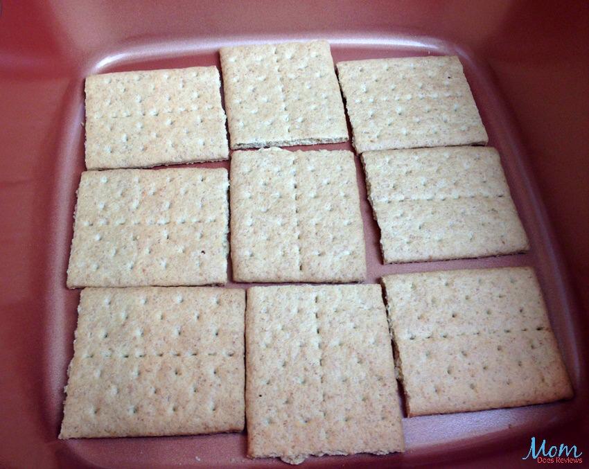 mores Cake Recipe process