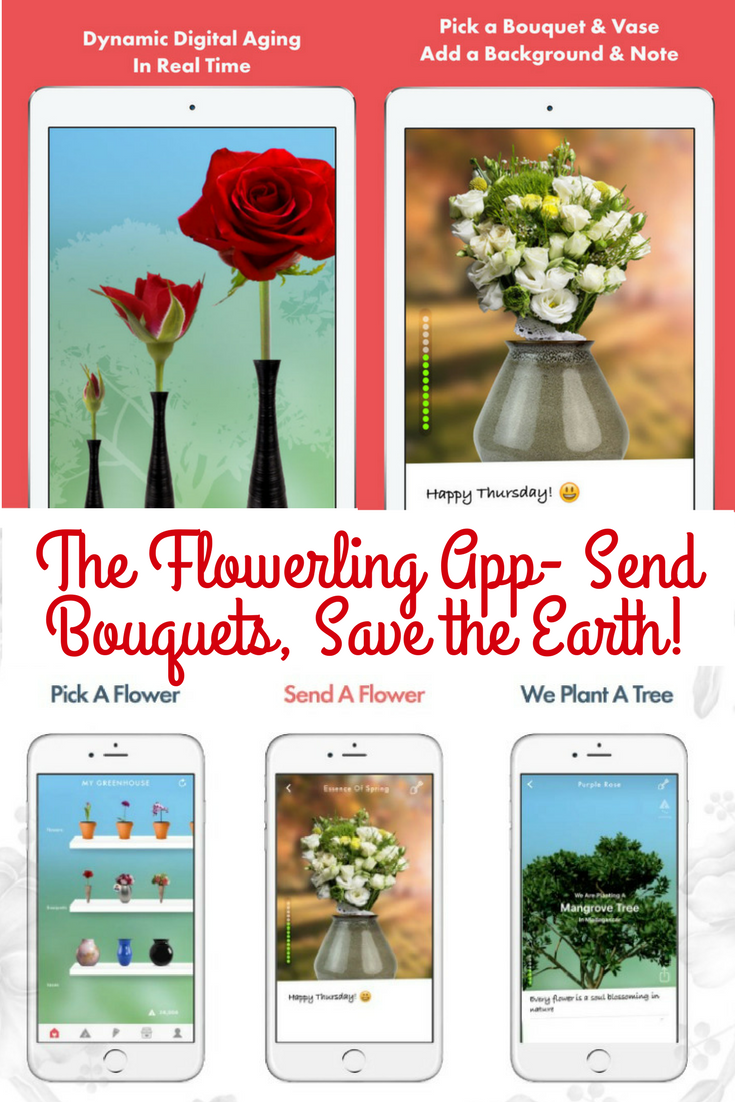 The Flowerling App- Send Bouquets, Save the Earth