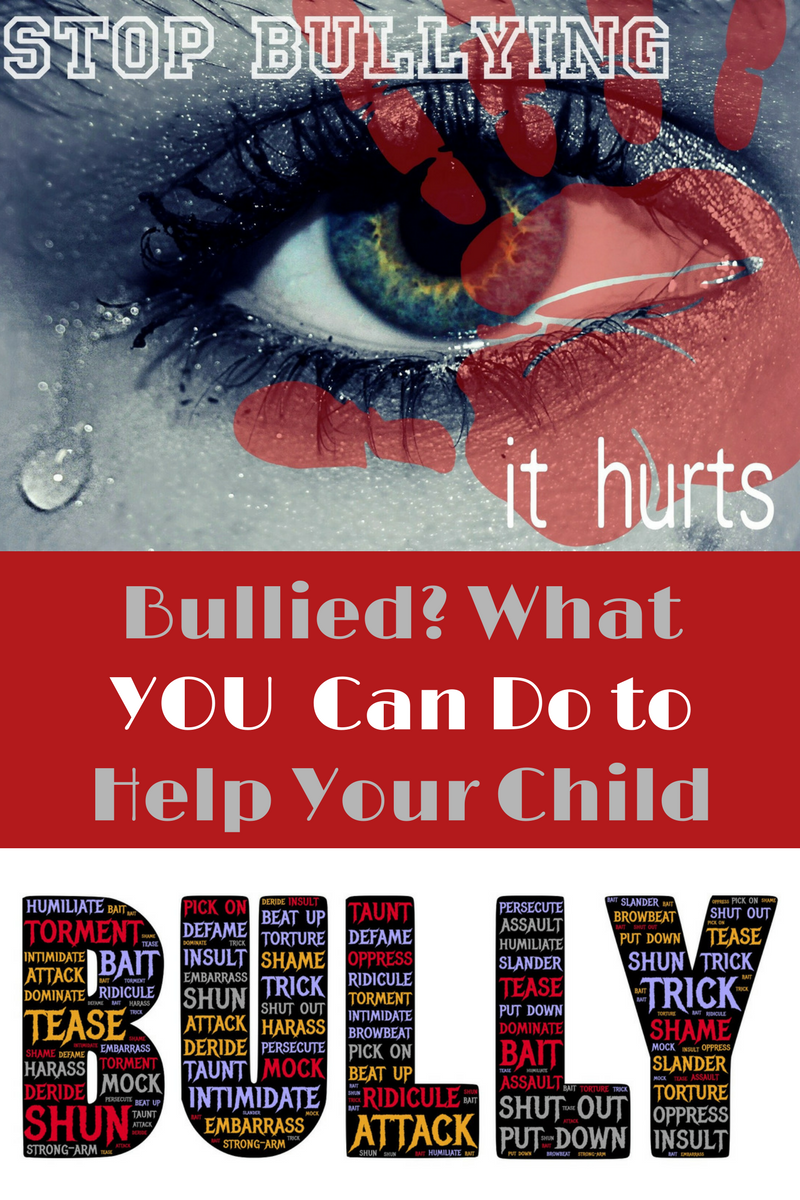 Bullied? What Can You Do to Help Your Child