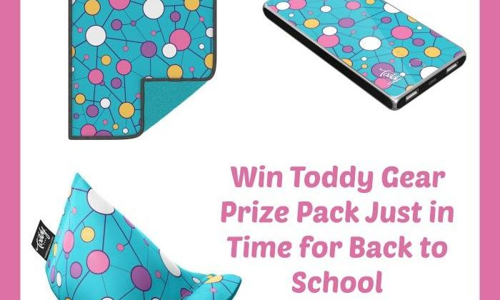 #Win Toddy Gear Prize Pack US 8/29