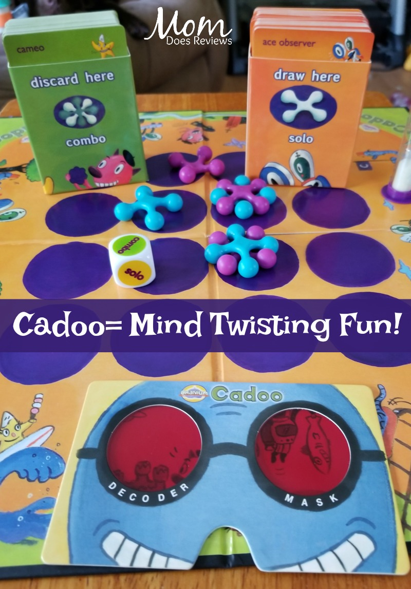 Cadoo- perfect for family game night
