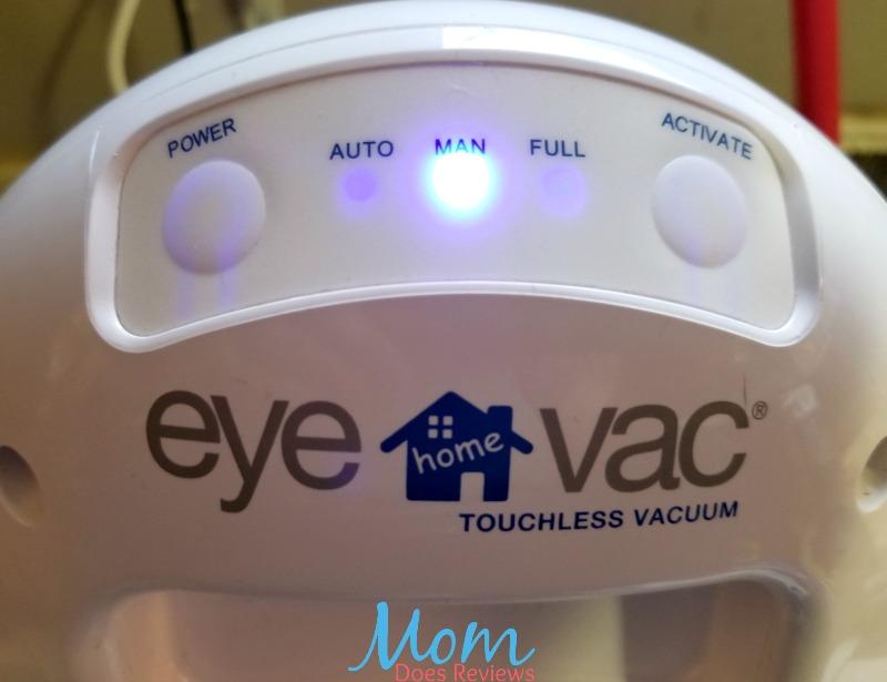 EyeVac controls