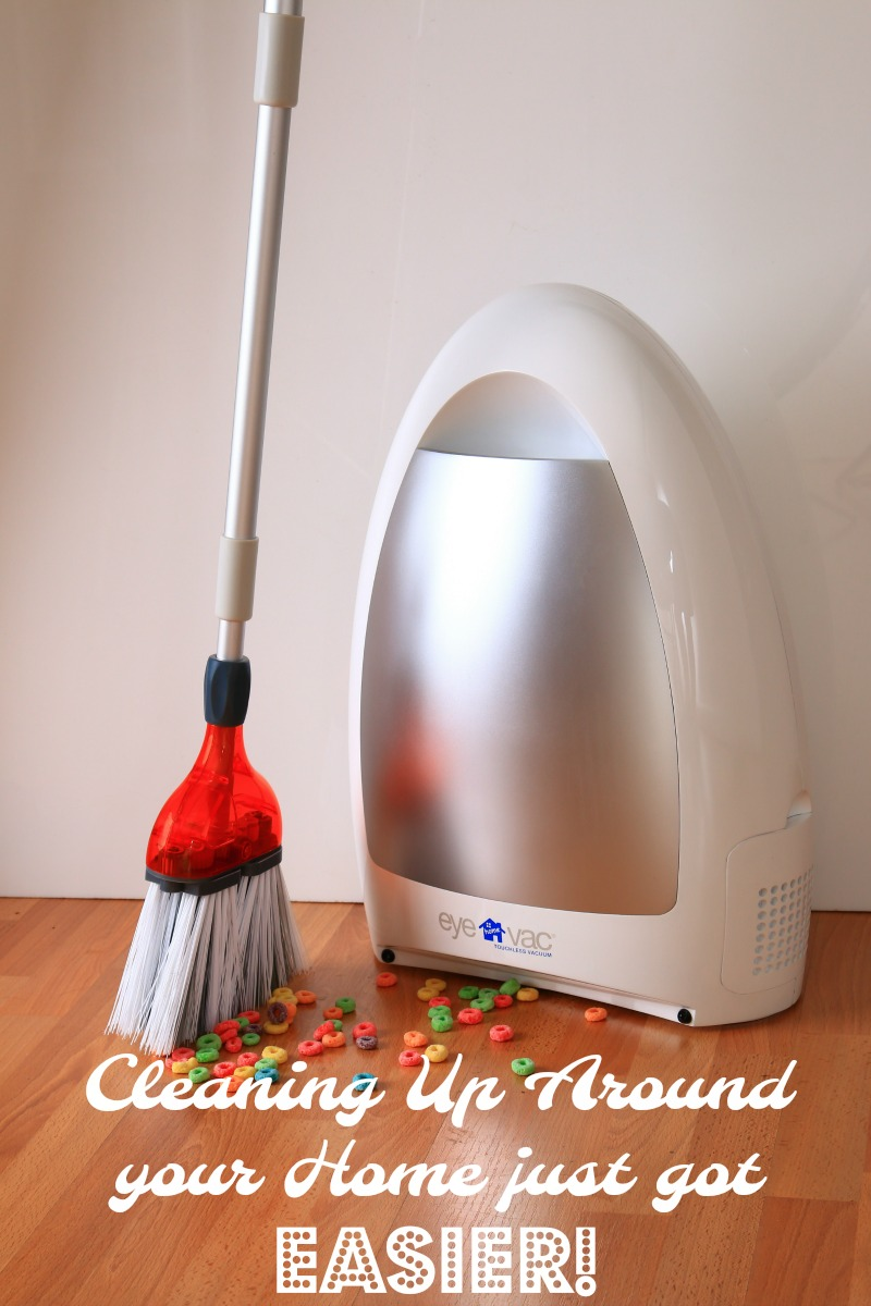 The EyeVac makes cleaning so much easier!