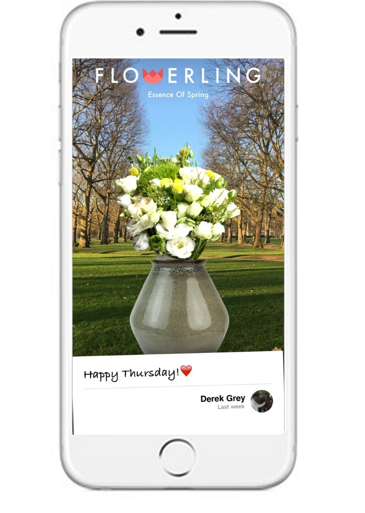 Send a Virtual Bouquet or Single Rose with the Flowerling app ...