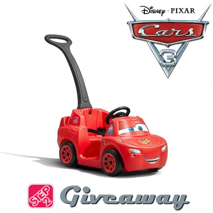 Step2 Disney Cars giveaway