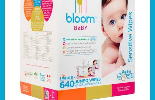 #Win a Case of Bloom Baby Wipes! US 8/30