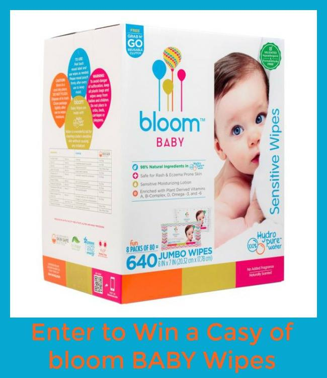Win A Case Of Bloom Baby Wipes Us 8 30