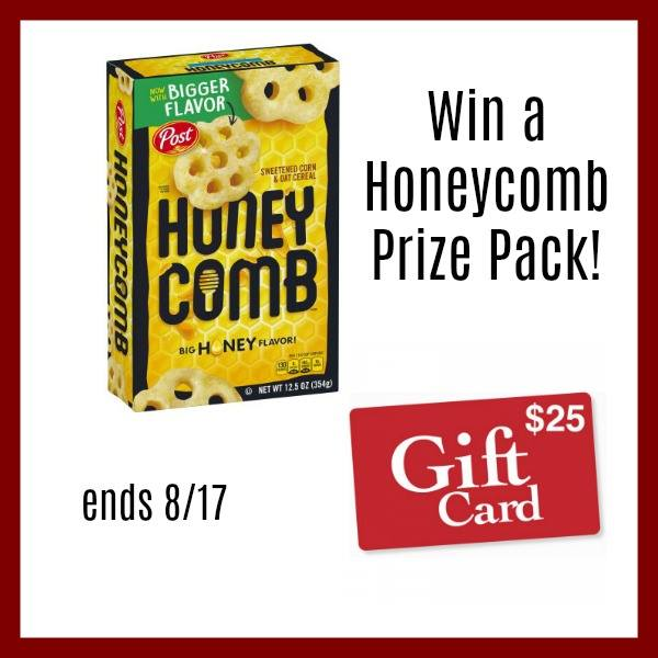 Win HOneycomb prize pack